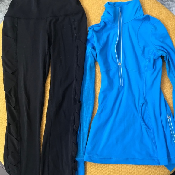 Lululemon sport outfit top and bottom size 4